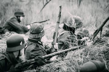 Soldaten aan de vuurlinie